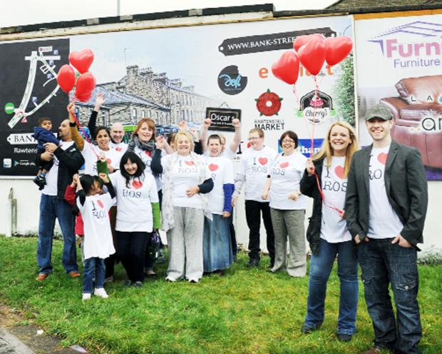 Traders out in force to show they love Rossendale