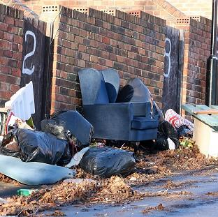 This Is Lancashire: New sentencing guidelines for courts in England and Wales will see offences such as fly-tipping punished by larger fines