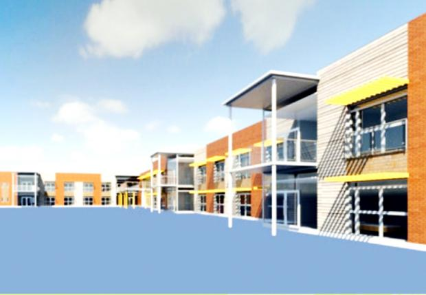 This Is Lancashire: PLAN FOR NEW SPECIALIST UNIT: An artist's impression of the proposed Sue Ryder care centre
