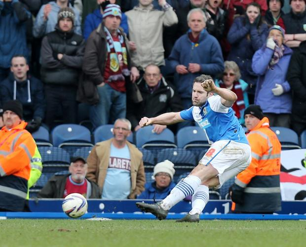 This Is Lancashire: David Dunn's dramatic equaliser against Burnley