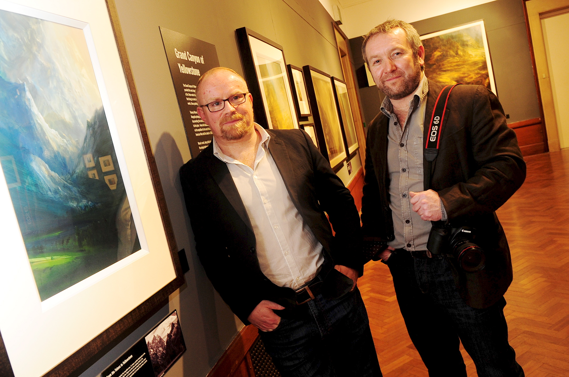 James Naughton exhibition: Artist inspired by Thomas Moran launches exhibition in Bolton