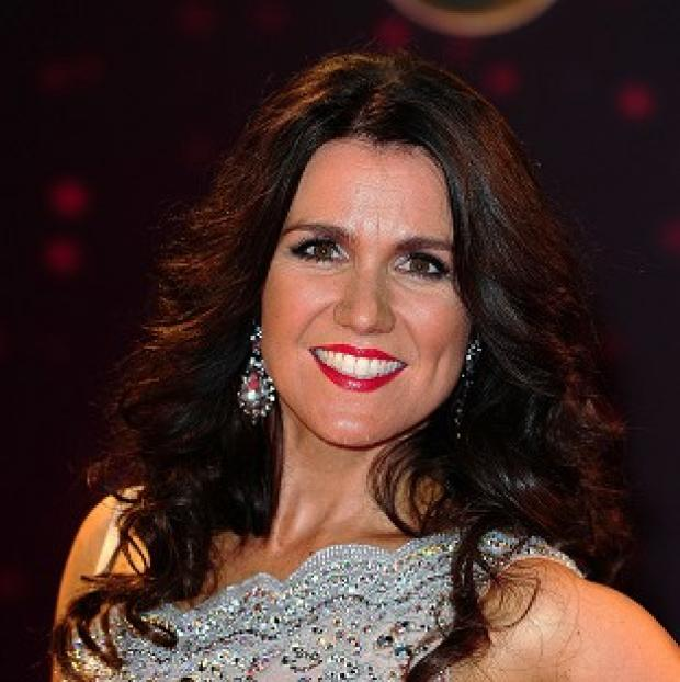 This Is Lancashire: Susanna Reid has split from her partner