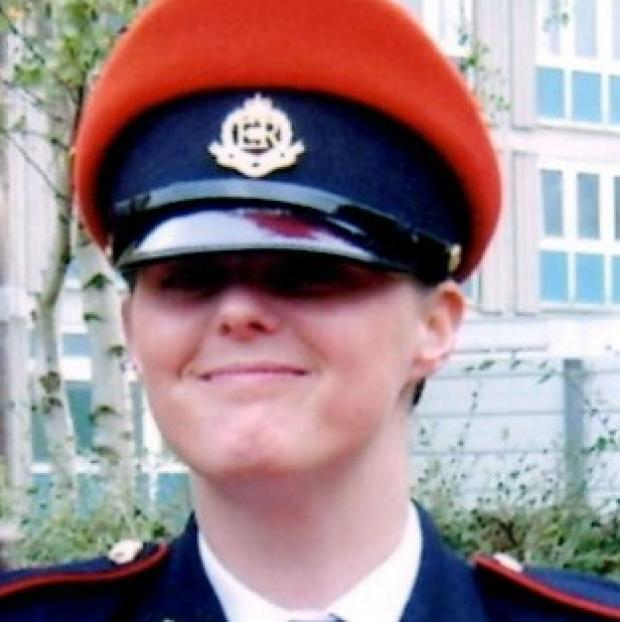This Is Lancashire: Corporal Anne-Marie Ellement accused colleagues of rape.