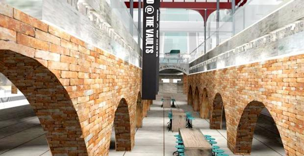 This Is Lancashire: Revealed: How new restaurant and bar area in vaults of Market Place will look