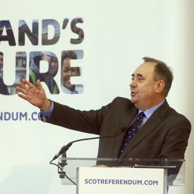 This Is Lancashire: Alex Salmond is to detail his vision for Scottish independence during a lecture in London