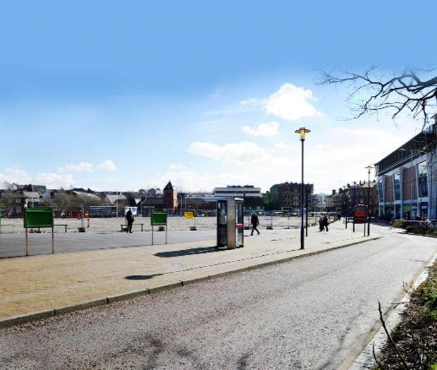This Is Lancashire: Work starts on £5m bus station in Blackburn