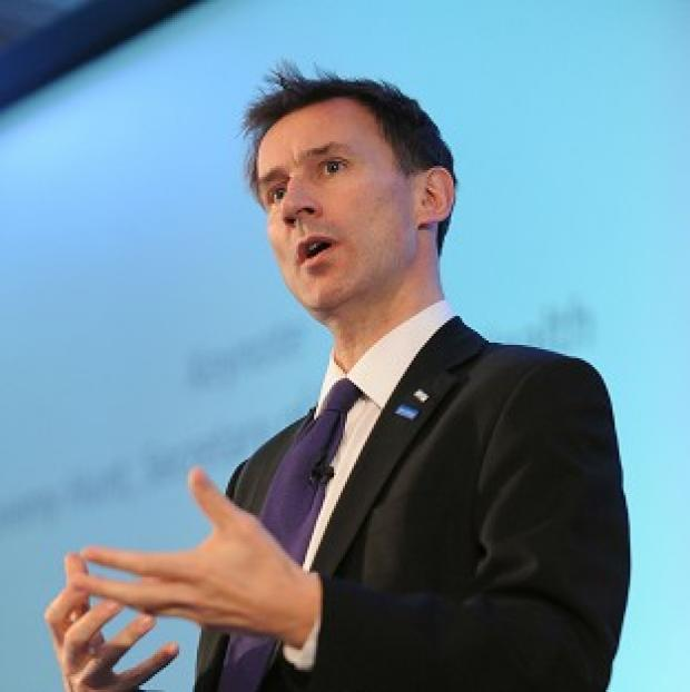 This Is Lancashire: Health Secretary Jeremy Hunt claims care failures in Wales are increasing pressure on casualty departments in England