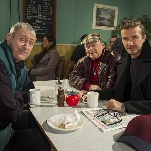 David Beckham joins Sir David Jason and Nicholas Lyndhurst as