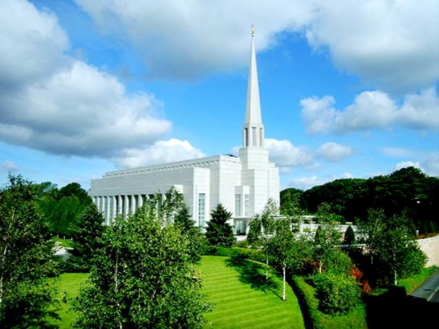 This Is Lancashire: The Mormon Temple, Chorley, which belongs to the Church of Jesus Christ of Latter-Day Saints