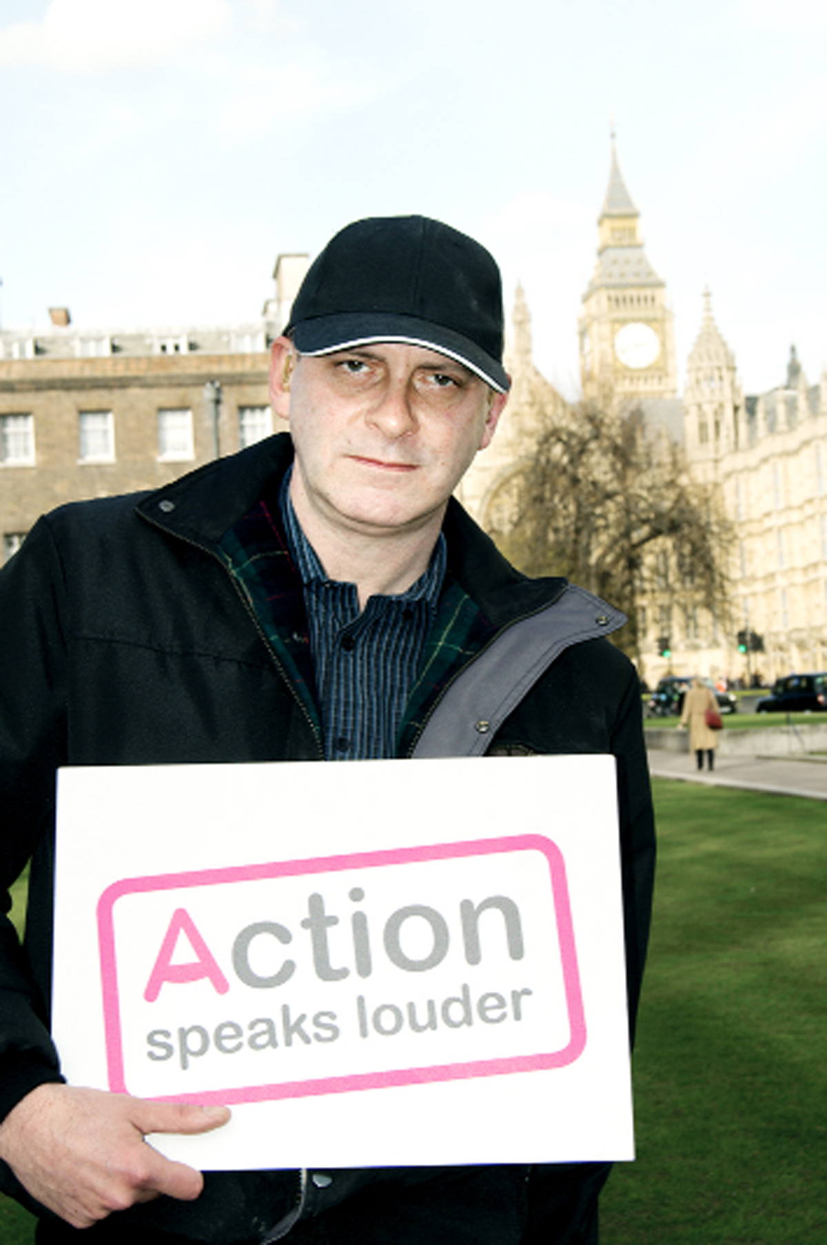 AWARENESS: Steve Cross attended Action's House of Lords reception