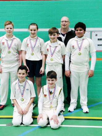 SUCCESS: Chorley U13s team with their medals