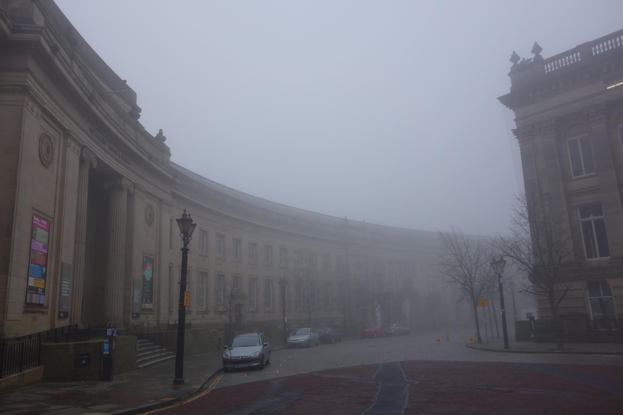 Commuters facing travel chaos as thick fog envelops Bolton