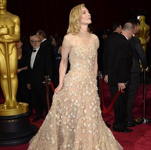Cate Blanchett's Oscars gown was apparently a last minute choice