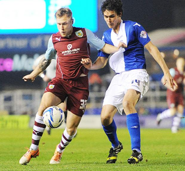 This Is Lancashire: PLAYER RATINGS: Birmingham City v Burnley