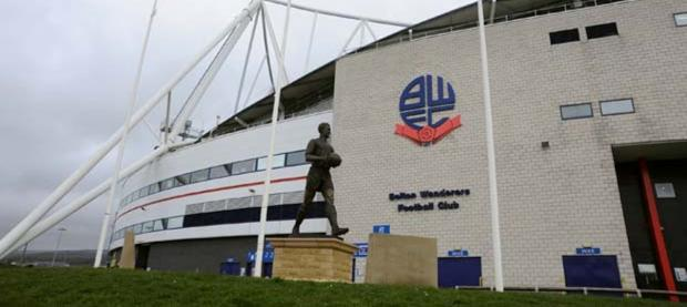 The Reebok Stadium - soon to be called the Macron Stadium
