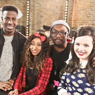 Jermain Jackman, Iesher Haughton and Sophie-May Williams are all on Team Will in The Voice