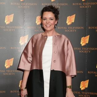 Olivia Colman was named best actress at the RTS Awards