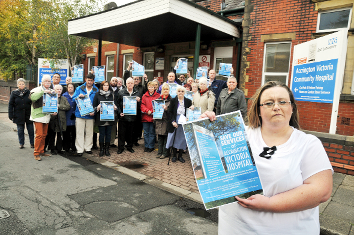 Victory hailed for Accrington walk-in centre protest