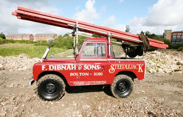Fred Dibnah's old Land Rover