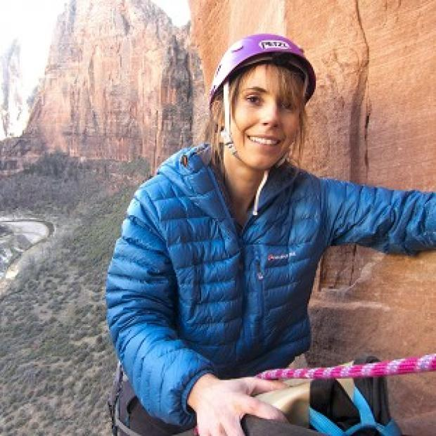 This Is Lancashire: Alex Jones is nearing the end of her climbing challenge