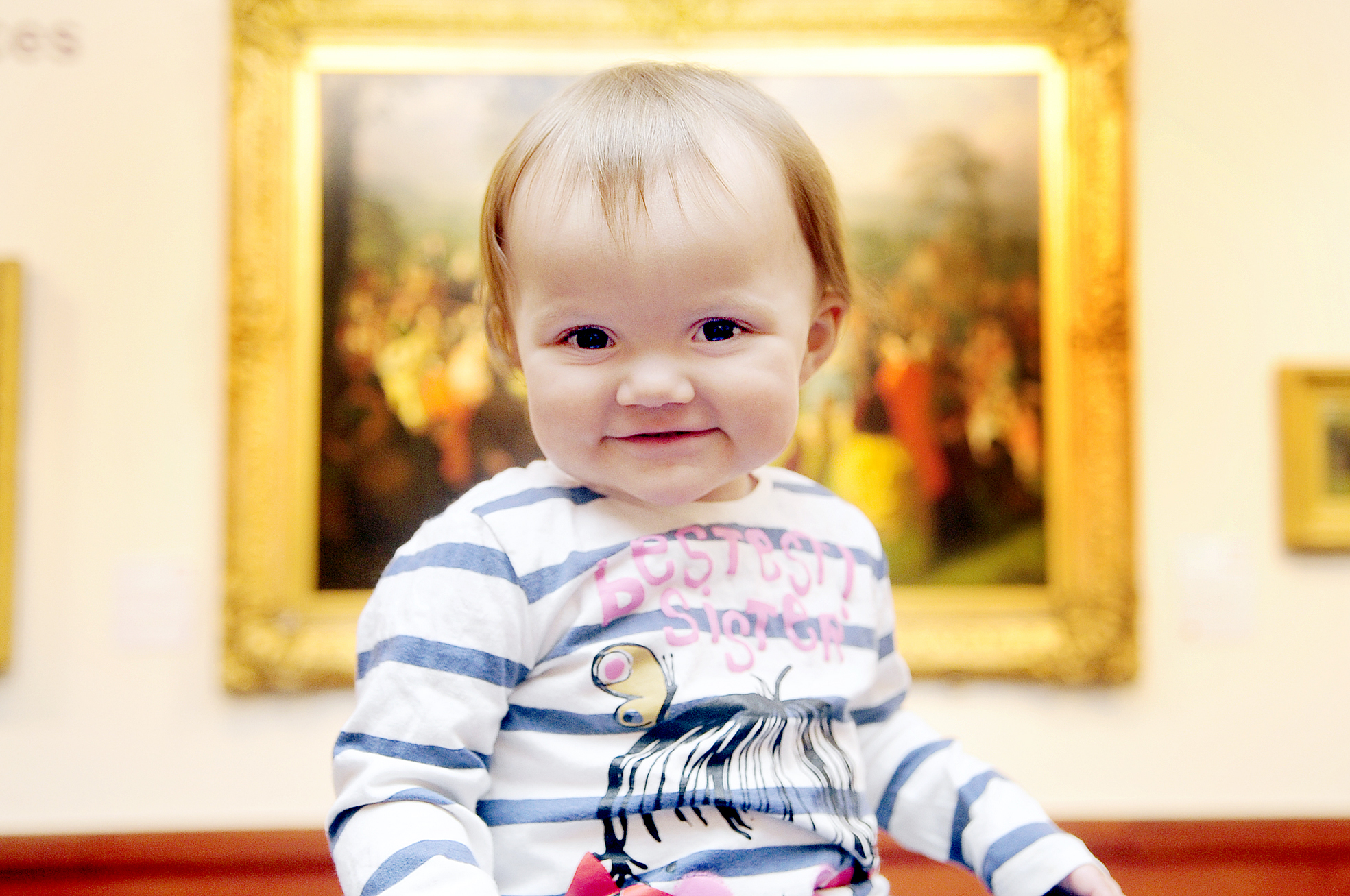 Babies show off their arty side