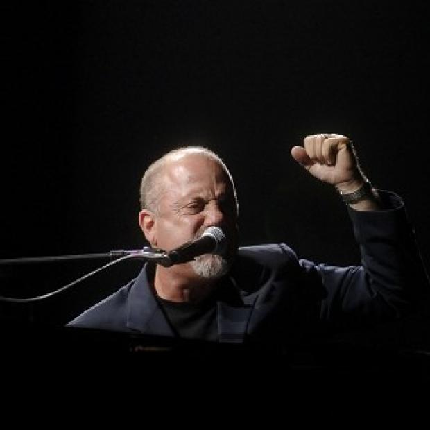 This Is Lancashire: Billy Joel was joined on stage by AC/DC lead singer Brian Johnson at a concert in New York