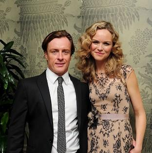 Toby Stephens worked with wife Anna-Louise Plowman on Private Lives
