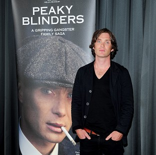 Cillian Murphy starred in Peaky Blinders