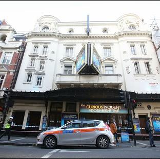 Eighty people were injured in the collapse at the Apollo theatre