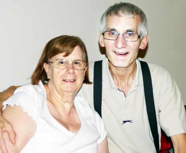 Alan Hedges, with his wife Wendy, has dedicated the rest of his life to raising money for research into Motor Neurone Disease after being diagnosed with the condition