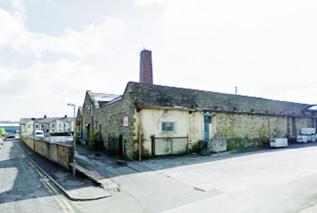 The now-demolished Waterfield Mill