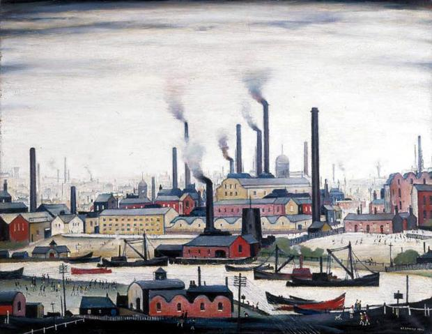 Old Bury Council Lowry painting sold for £2 million