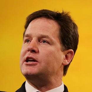 Nick Clegg will tell the Scottish Lib Dem conference that there is an '