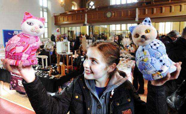 This weekend's opening of the £455,000 Moira Preston Building, Queen's Park Road, will feature an artisan market like this one held in  at Clitheroe United Reformed Church recently