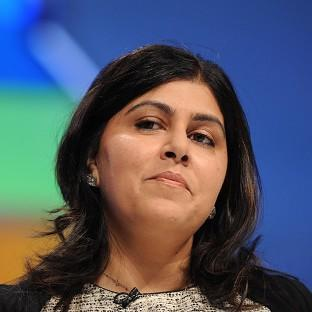 Baroness Warsi defended party chairman Grant Shapps