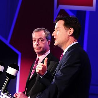 Nick Clegg and Ukip leader Nigel Farage will hold another debate