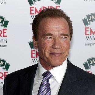 Arnold Schwarzenegger attending the Empire