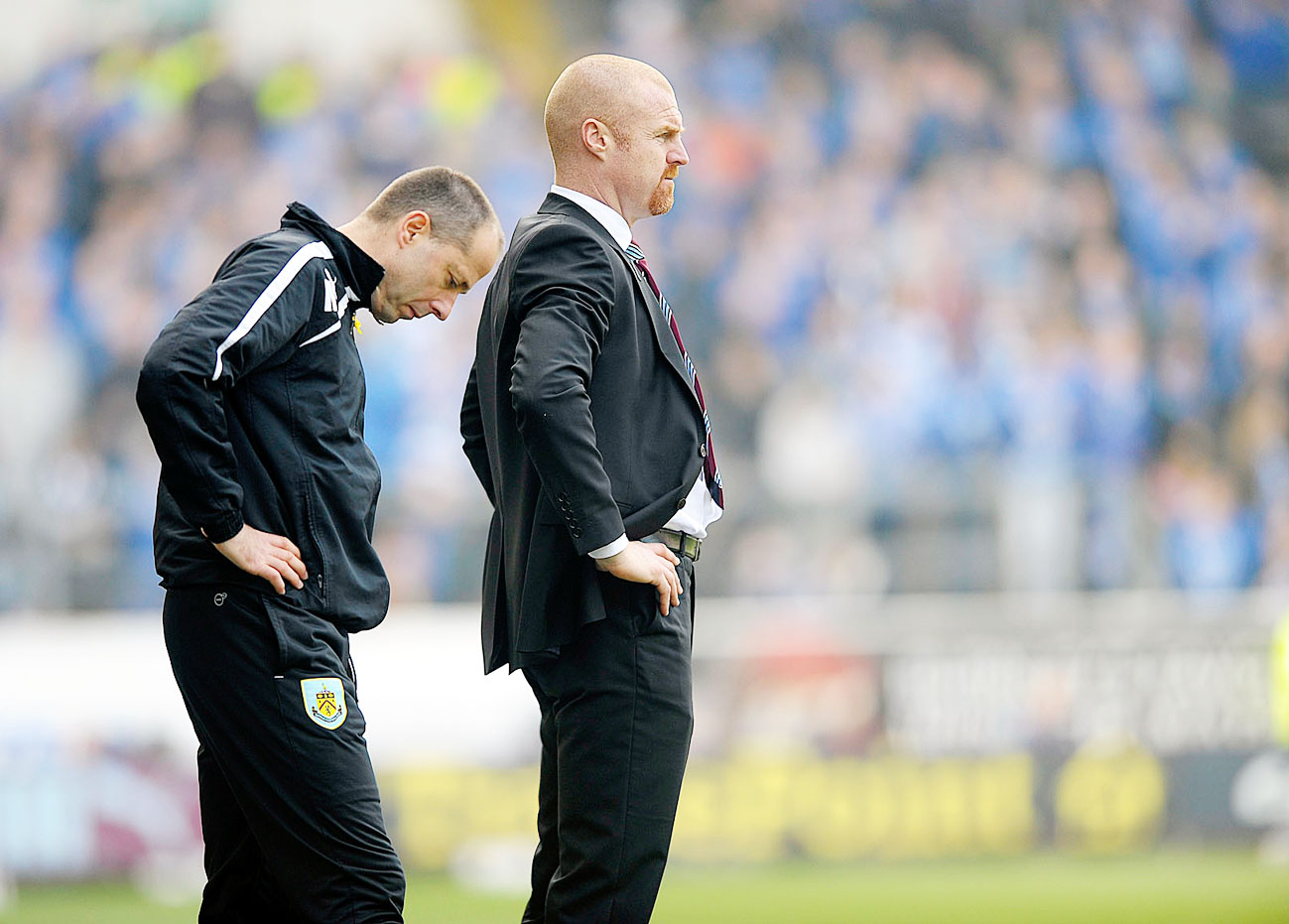 Assistant boss Ian Woan and Sean Dyche reflect on a rare loss
