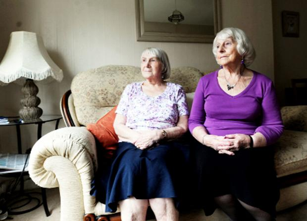 Helen Houghton and Jean Campbell-Jones, of  Hornby Court
