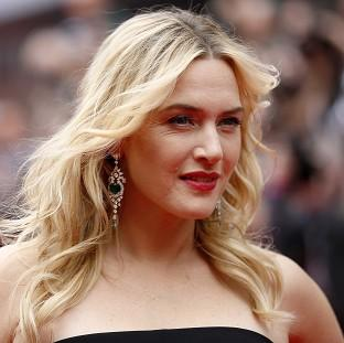 This Is Lancashire: Kate Winslet arriving for the European premiere of the film Divergent