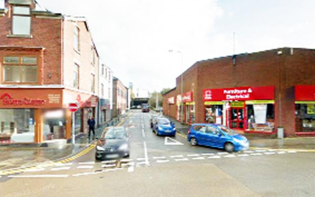 Darwen Street, Blackburn, has closed for resurfacing work