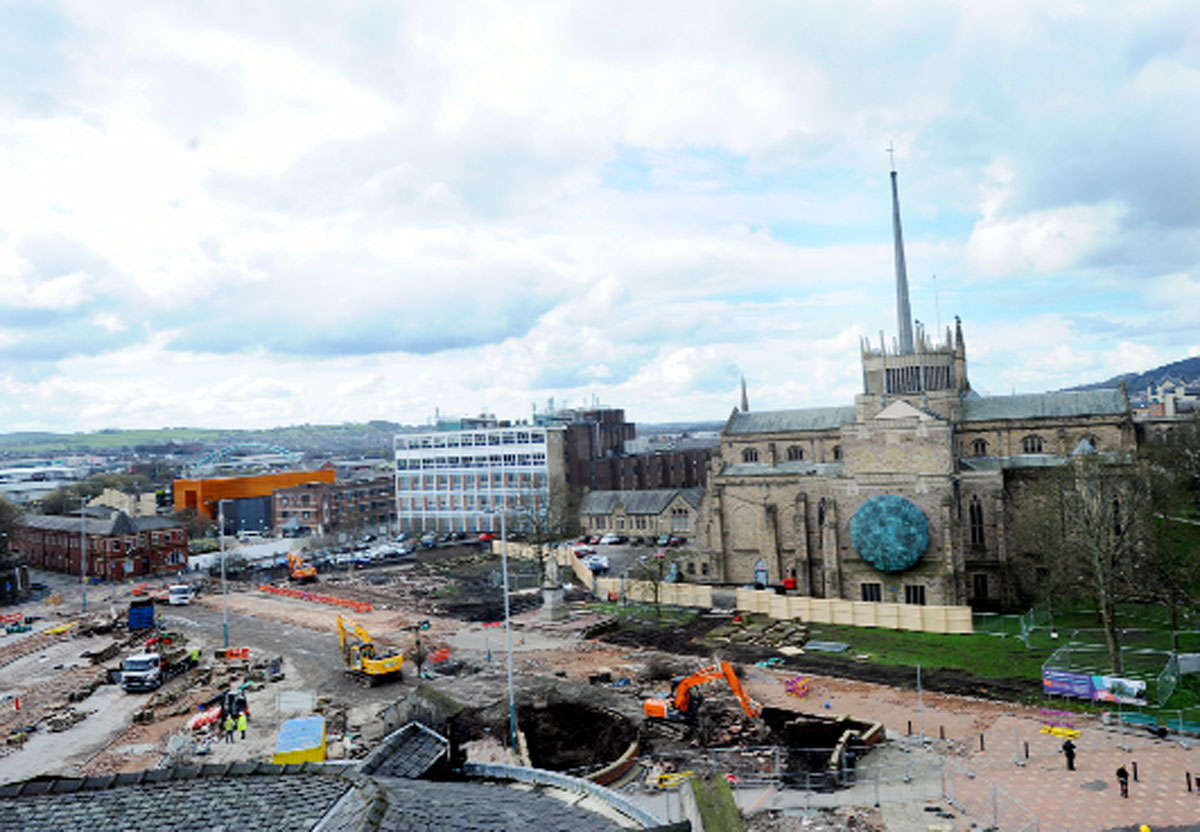 Regeneration boss opens consultation on Blackburn town centre traffic