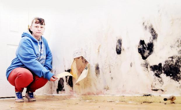 MOULDY HOME MADE MY FAMILY ILL: Blackburn mum hits out at Twin Valley Homes