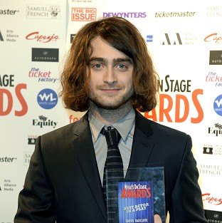 Daniel Radcliffe says he loves working on Broadway