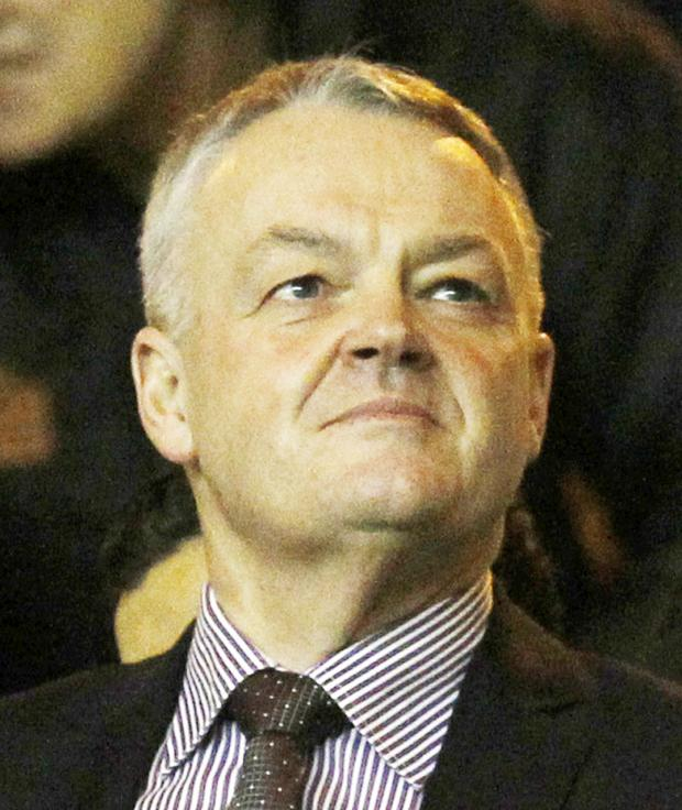 This Is Lancashire: Bolton Wanderers chairman Phil Gartside