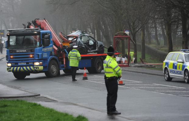 LATEST: Man dies after car hits bus shelter in Todmorden