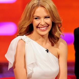This Is Lancashire: Kylie Minogue during filming of the Graham Norton Show