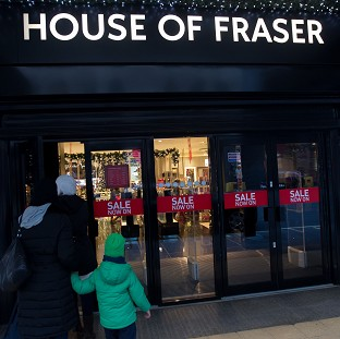 The House of Fraser chain has reportedly been sold for �450m