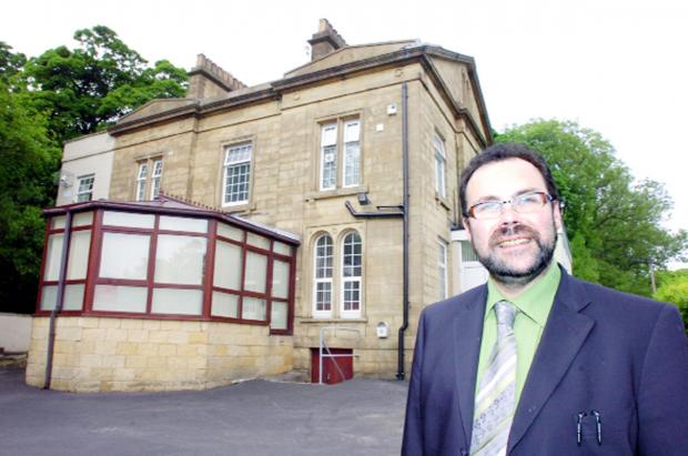 Rev Jim McCartney at the Witton Bank centre