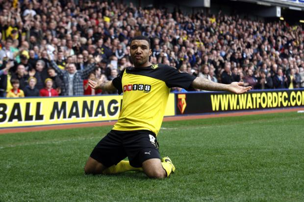 Striker Troy Deeney